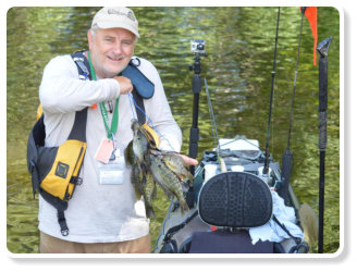 South Carolina sportsman know Lake Marion and Lake Moultrie are the best for freshwater kayak fishing for bass, crappie, blue gill